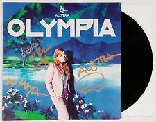 AUSTRA BAND SIGNED OLYMPIA RECORD ALBUM VINYL + COA KATIE STELMANIS AUTOGRAPH