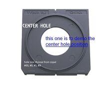 center hole Lens board COPAL #0 or #1 or #3 for LINHOF wista ShenHao 96 x 99