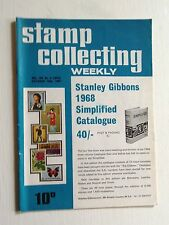 STAMP COLLECTING WEEKLY OCT 19th 1967-EUROPE AFTER WW1 BALKANS,NEW HEBRIDES