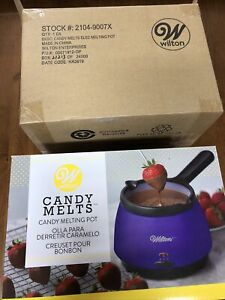 Wilton Chocolate Candy Melts Melting Pot 2104-9007X 120 Volt Plug New