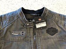 Rare NWT Harley Davidson Decklyn Santa Fe THE CHIEF Railroad Jacket Motorcycle