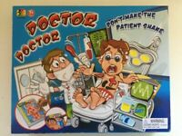 Doctor Doctor - Board Game - Dont Make The Patient Shake - NEW