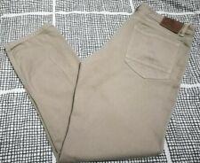 Fat Face Trousers Brown Beige Camel Regular Fit Cotton Jeans W34 L30