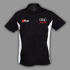 AUDI RS Polo T Shirt T-Shirt  chemise s line Coton BRODERIE Fabriqué EU S - 6XL
