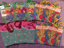 Birthday Gift Bags Lot Of 10