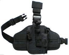 DROP LEG GUN HOLSTER RT HAND Baretta Glock Ruger S&W HK RIGHT Hand Pistol Case