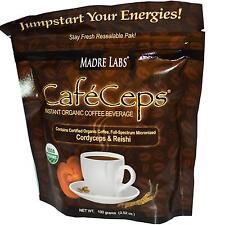 cafeceps ISTANTANEO organico caffè con funghi ESTRATTI - 100g DA MADRE Labs