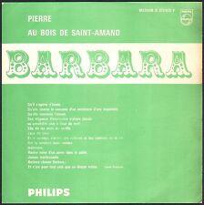 BARBARA PIERRE 45T JUKE BOX + CARTON ORIGINAL PHILIPS 373.425 +Plastique PHILIPS