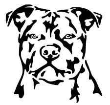 Staffordshire Bull Terrier Staffy Puppy Dog Vinyl Novelty Art Decal Sticker