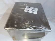 Hoffman A12106chnfss Hinged Stainless Steel Electrical Enc. W/backplate 12x10x6