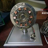 The Avengers Iron Man Ark Reactor Tony MK1 Reaction Furnace Model Metal Prop