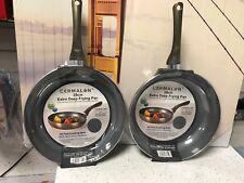 CERMALON Pewter Extra Deep Large 28cm Pro Frying Pan Non Stick Ceramic Induction