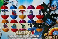 DC Comics Zerboz Heroics Series 1 Mini Figure Factory Sealed Ball - Capsule 2011