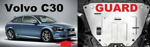 For Volvo C30 Aluminum Engine Guard Protection Cover Shield 2007-2012