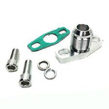 GT25 GT28 T25 T28 GT30 GT35 garrett -10an turbo oil drain flange adaptor male