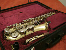 B & H  400 ALTO SAX.IN BEAUTIFUL CONDITION  WITH CASE MOUTHPIECE ETC,REFURBISHED