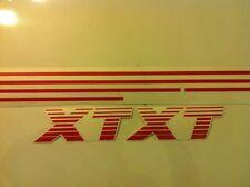 Kit complet stickers autocollants Peugeot 205 XT rouge red