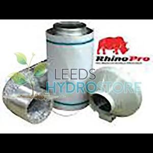 "8"" 200mm RVK Fan L1 and Rhino filter kit 200mm/600mm"