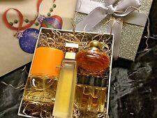 4 Vtg Classic Women's Miniature perfume Happy-Oscar-Chopard-Arden New Gift Boxed