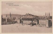 AK Würzburg. Blick vom Residenzplatz