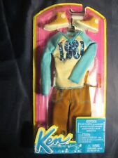VESTITO KEN FASHIONISTAS FIDANZATO BARBIE N8329 BCN66 2013 NEVER SEALED NUOVO