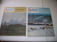 Vintage Lot of 2 Alaska Sportsman 1967 and 1969 Magazine