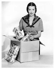 KITTY CARLISLE young promo still mailing Christmas gifts - (g327)