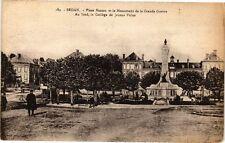 CPA  Sedan - Place Nassau et le Monument de la Grande Guerre -Au fond...(224589)