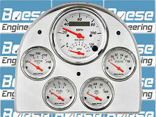 52-53 Ford Car Billet Aluminum Gauge Panel Dash Insert Instrument Cluster