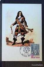 SANTOS DUMONT  1973 CARTE MAXIMUM FRANCE Premier Jour 1° FDC Yt 1746c