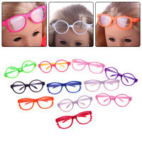 Fashion Handmade Doll Girl Glasses For 18 Inch Doll Toy Doll Wear Color Random