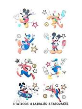 DISNEY MICKEY ON THE GO TEMPORARY TATTOOS KID'S BIRTHDAY PARTY FAVOR BAGS