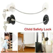 Baby Safety Cupboard Lock Invisible Lock Cabinet Locks Child Kid Proof Latch Us
