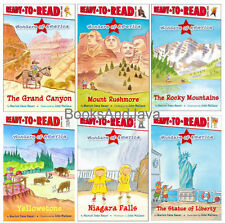 Wonders of America Ready-To-Read Level 2 The Grand Canyon,Statue of Liberty 6 pk