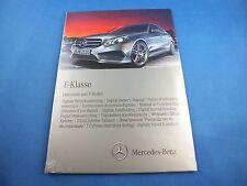 Original Mercedes Classe E 2013 Numérique Manuel CD 2125844200 w212 E