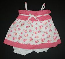 New Janie and Jack Orchid Floral Bubble Dress Size 3-6 Months NWT Baby Safari