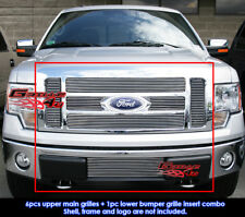 Fits Ford F-150 Lariat/King Ranch Billet Grill Insert Combo 2009-2011