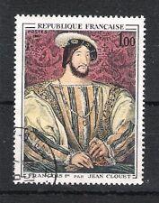 timbre oblitéré  Portrait de François 1er - 1967 - YT 1517