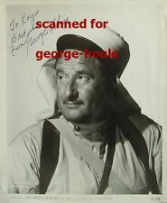 GEORGE TOBIAS - 8X10 - VTG - INSCRIBED - BURT LANCASTER - BEWITCHED