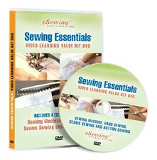 Sewing Essentials 4 in 1 Value Kit Video Lesson on DVD (Education, Fashion)