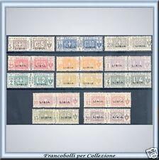 Colonie Libia Pacchi Postali Nodo Serie n. 1/13 Nuovi