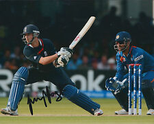 James FOSTER Signed Autograph 10x8 Photo AFTAL COA ENGLAND Cricket WicketKeeper