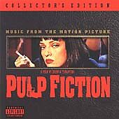 PULP FICTION - CD ALBUM SOUNDTRACK  - NEW - UK STOCK