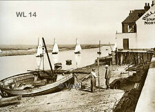 North Norfolk Postcard - Wells next the Sea - The Harbour - Circa 1937 - WL14
