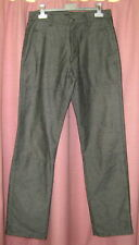 Pantalon SPRINGFIELD Noir Chiné Taille 38-40 Etat Neuf