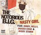 THE NOTORIOUS B.I.G. - Nasty Girl (UK 2 Tk CD Single Pt 1)