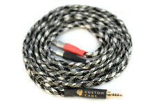 Sennheiser HD800 Cable 2.5mm Jack (1.5m, Black and White) Ready to Ship