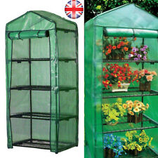 More details for 4 tier mini greenhouse pvc cover plants grow house plastic outdoor frame cover