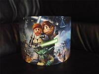 """LEGO STAR WARS -D2 - 10"""" DRUM CEILING LAMPSHADE LIGHTSHADE"""