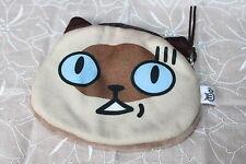 """Super süß! Porch Geldbörse Geldbeutel mit Katzengesicht """"in Panik """" aus Japan"""